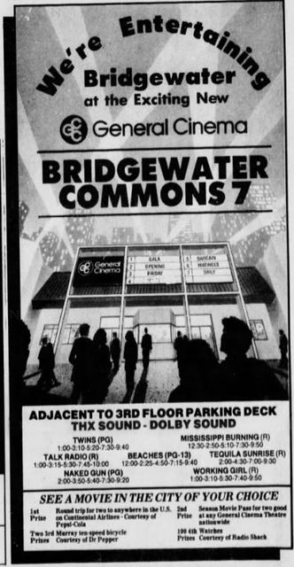 January 20th, 1989 grand opening ad