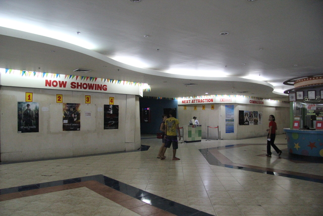Entrance to Fit Mark Cinema