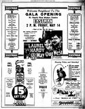 May 12th, 1937 grand opening ad