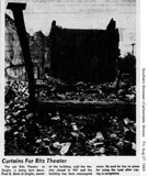 Ritz Theater is torn down in 1965