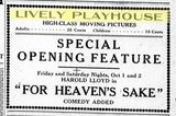 Sept 30, 1926 Opening Ad