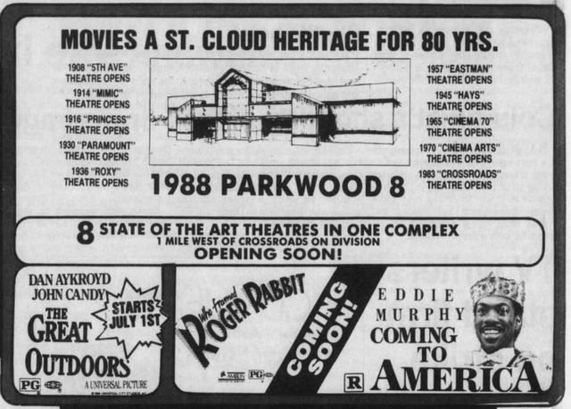 June 24th, 1988 Grand opening ad