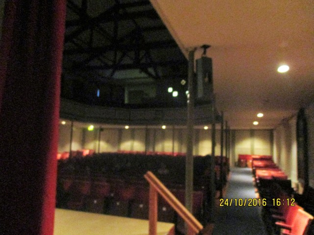 Interior of the Cinema from the stage end