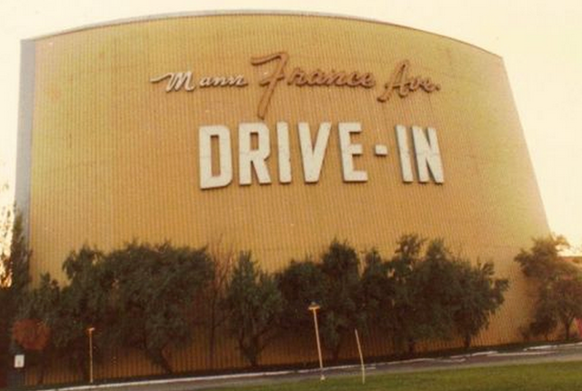 Mann France Drive-In in 1966