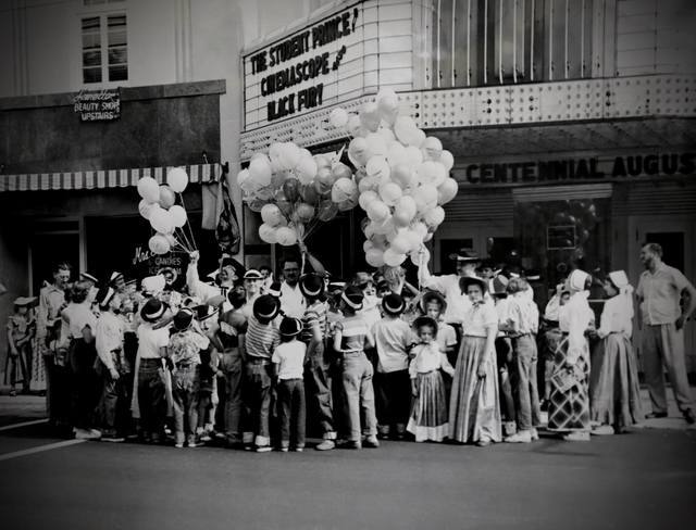 August 1954 photo credit Lansing Historical.