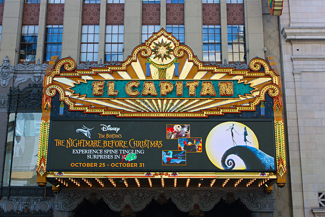 El Capitan Theatre, Los Angeles, CA