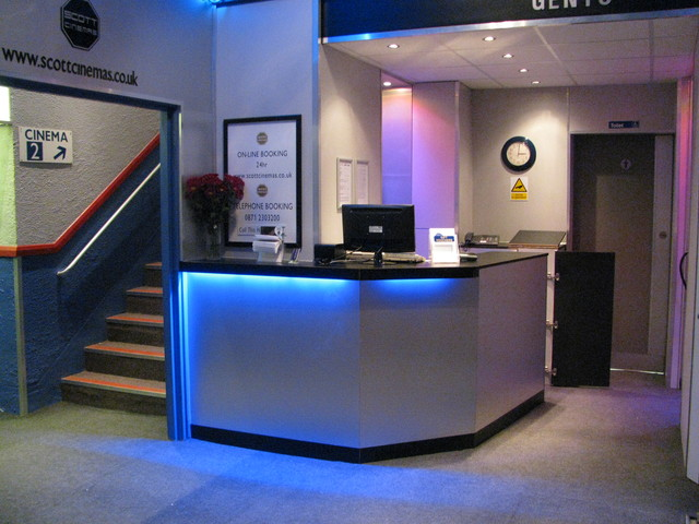 Ticket Desk, refurbished July 2011