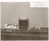 1943 marquee promo photo courtesy of the Y-Block Guy Facebook page.
