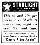 Starlight Twin Drive-In