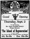 September 2nd, 1915 grand opening ad