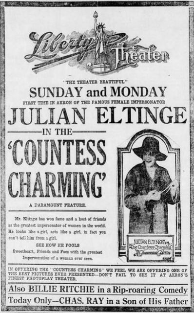 December 15th, 1917 grand opening ad