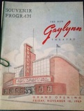 Gaylynn Theater Grand Opening program