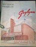 Gaylynn Theater Grand Opening program