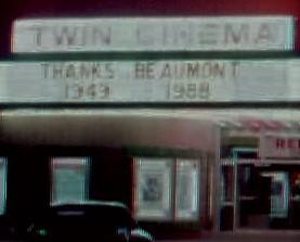 Gaylynn Theatre - Last week in 1988.