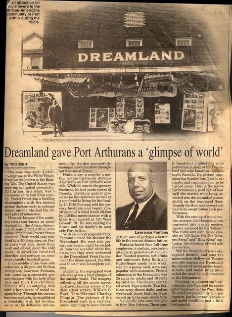 Dreamland Theatre Port Arthur