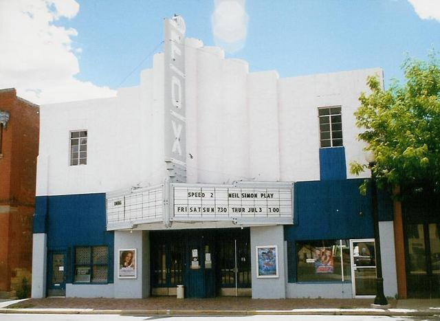 Fox Theater, Walsenburg, CO August 1997