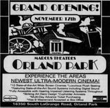 November 10th, 1995 grand opening ad