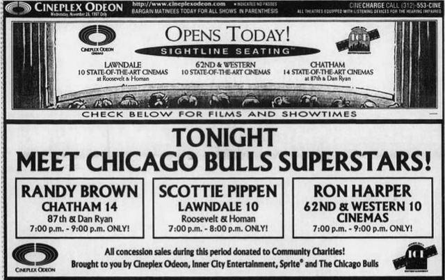 November 26th, 1997 grand opening ad