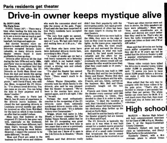 271 DRIVE IN ARTICLE