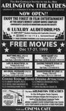 December 17th, 1999 grand opening ad