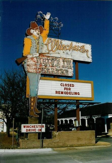 Winchester Drive In, Oklahoma City OK 1994