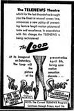 April 2nd, 1950 grand opening ad as Loop