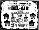 March 2nd, 1956 grand opening ad