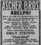 November 10th, 1917 grand opening ad