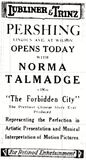 November 6th, 1918 grand opening ad