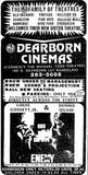 December 20th, 1985 grand opening ad as Dearborn Cinemas