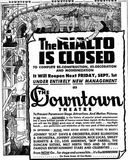 August 25th, 1944 grand opening ad as Downtown
