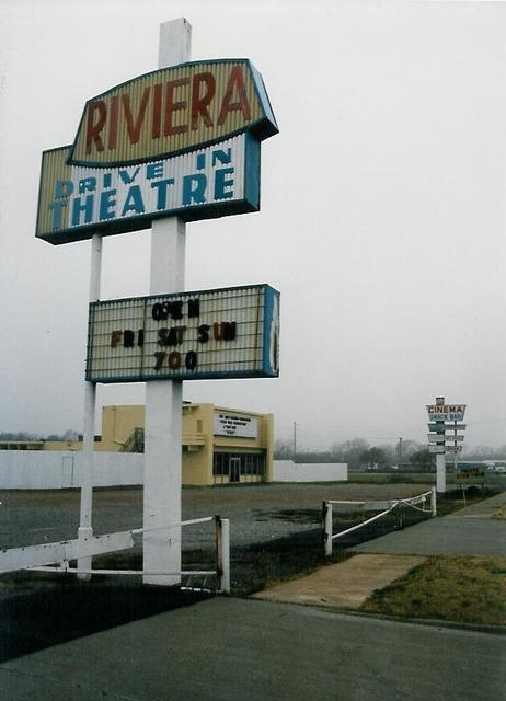 Riviera Drive In, Oklahoma City OK  1994