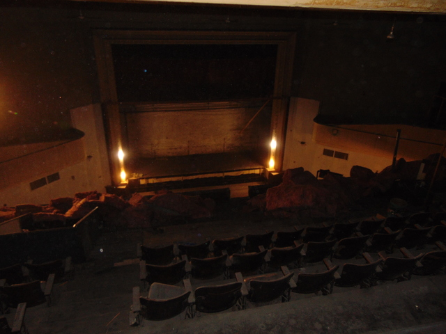 View from the projection room.