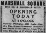 December 22nd, 1917 grand opening ad