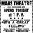 October 7th, 1949 grand opening ad as Mars