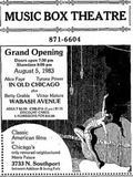 August 5th, 1983 grand opening ad