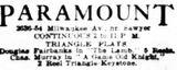 November 23rd, 1915 grand opening ad as Paramount
