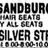 June 3, 1977 grand opening ad as Sandburg.