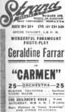 October 15th, 1915 grand opening ad in the photo section.