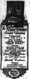 October 29th, 1922 grand opening ad