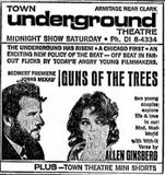 April 14th, 1967 grand opening ad as Town underground