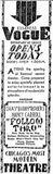 November 21st, 1930 grand opening ad