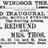 September 20th, 1886 grand opening ad for the old Windsor theatre.