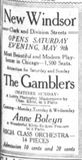 May 9th, 1914 grand opening ad