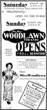 August 12th, 1937 grand opening ad