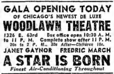 August 15th, 1937 grand opening ad