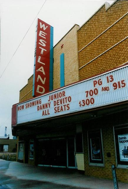 Westland Theatre, Elk City OK 1994