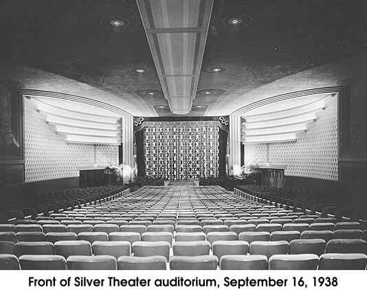 afi silver theatre cinema treasures