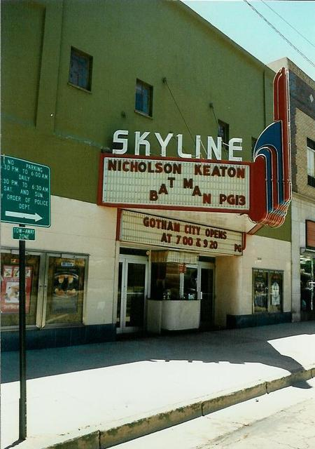 Skyline Theatre, Canon City CO 1989