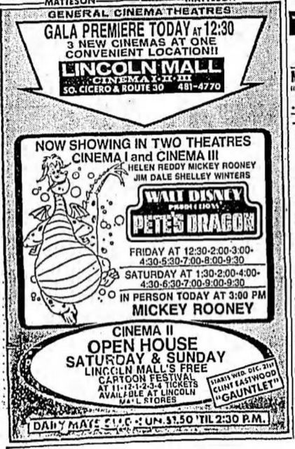 December 16th, 1977 grand opening ad